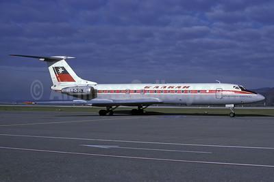 Balkan Bulgarian Airlines Tupolev Tu-134A LZ-TUN (msn 4352307) ZRH (Rolf Wallner). Image: 937338.