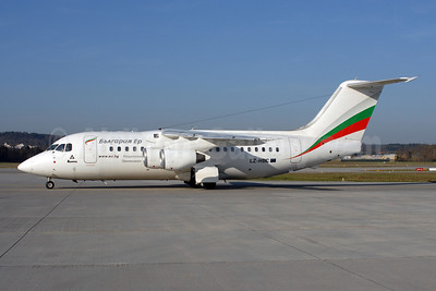 The last BAe 146 (LZ-HBZ), retired in June 2016 and sold on September 22, 2016