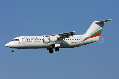 Bulgaria Air BAe 146-300 LZ-HBG (msn E3146) ZRH (Andi Hiltl). Image: 906810.