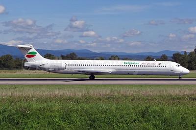 Bulgarian Air Charter McDonnell Douglas DC-9-82 (MD-82) LZ-LDU (msn 53204) BSL (Paul Bannwarth). Image: 930468.