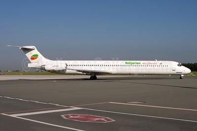 Bulgarian Air Charter McDonnell Douglas DC-9-83 (MD-83) LZ-LDG (msn 53149) NUE (Gunter Mayer). Image: 943804.