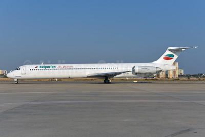 Bulgarian Air Charter McDonnell Douglas DC-9-82 (MD-82) LZ-LDT (msn 53058) AYT (Ton Jochems). Image: 943654.