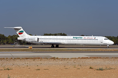 Bulgarian Air Charter McDonnell Douglas DC-9-82 (MD-82) LZ-LDN (msn 53216) AYT (Ton Jochems). Image: 943653.