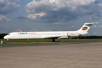 Bulgarian Air Charter McDonnell Douglas DC-9-82 (MD-82) LZ-LDY (msn 49213) NUE (Gunter Mayer). Image: 943803.