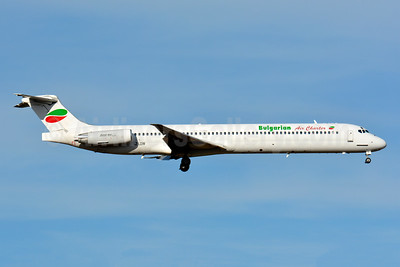 Bulgarian Air Charter McDonnell Douglas DC-9-82 (MD-82) LZ-LDW (msn 49795) BSL (Paul Bannwarth). Image: 930469.