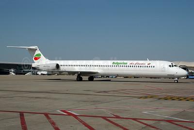 Bulgarian Air Charter McDonnell Douglas DC-9-82 (MD-82) LZ-LDK (msn 49432) BRU (Ton Jochems). Image: 943652.