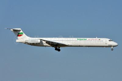 Bulgarian Air Charter McDonnell Douglas DC-9-82 (MD-82) LZ-LDN (msn 53216) FCO (Karl Cornil). Image: 923286.