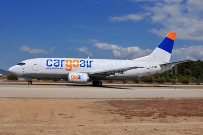 Cargoair Boeing 737-301 (F) LZ-CGO (msn 23237) PMI (Ton Jochems). Image: 929133.