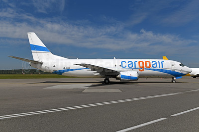 Cargoair Boeing 737-46J (F) LZ-CGW (msn 28038) (Enter Air colors) BSL (Ton Jochems). Image: 946561.