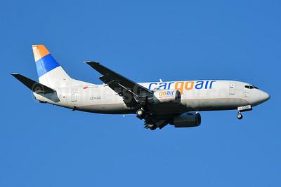 Cargoair Boeing 737-301 (F) LZ-CGO (msn 23237) BSL (Paul Bannwarth). Image: 954156.