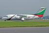 Hemus Air BAe 146-200 LZ-HBA (msn E2072) LHR (Antony J. Best). Image: 935425.