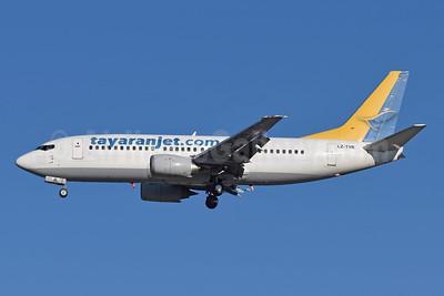Tayaran Jet (tayaranjet.com) Boeing 737-330 LZ-TYR (msn 25414) MXP (Richard Vandervord). Image: 949357.