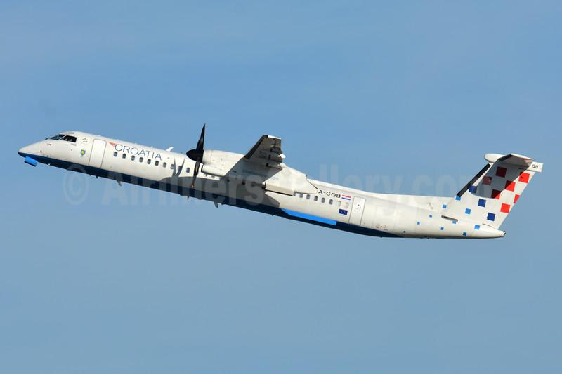 Croatia Airlines Bombardier DHC-8-402 (Q400) 9A-CQB (msn 4211) ZRH (Paul Bannwarth). Image: 942613.