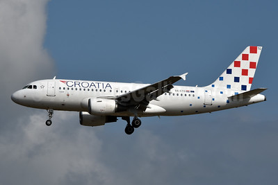 Croatia Airlines Airbus A319-112 9A-CTG (msn 767) FRA (Jay Selman). Image: 404102.