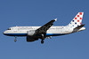 Croatia Airlines Airbus A319-112 9A-CTH (msn 833) LHR (SPA). Image: 930753.