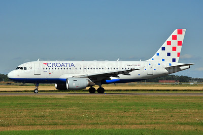 Croatia Airlines Airbus A319-112 9A-CTG (msn 767) AMS (Ton Jochems). Image: 954828.