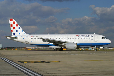 Croatia Airlines Airbus A320-214 9A-CTK (msn 1237) LHR (Antony J. Best). Image: 900283.