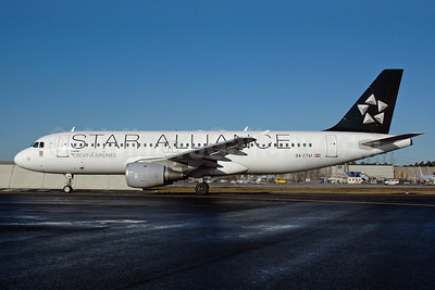 Croatia Airlines Airbus A320-212 9A-CTM (msn 671) (Star Alliance) FRA (Bernhard Ross). Image: 900284.