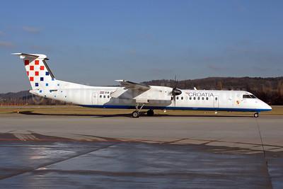 Croatia Airlines Bombardier DHC-8-402 (Q400) 9A-CQE (msn 4300) ZRH (Rolf Wallner). Image: 905807.