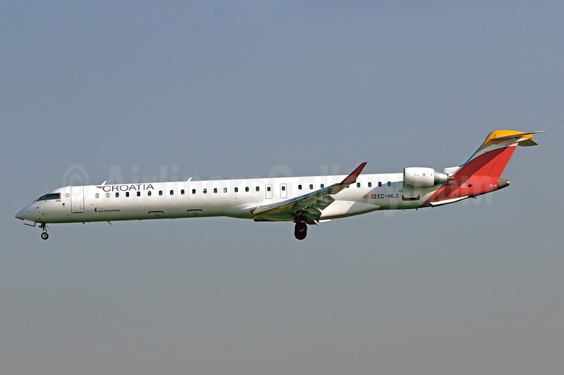 Leased from Air Nostrum on May 19, 2017