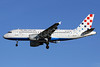 Croatia Airlines Airbus A319-112 9A-CTG (msn 767) LHR (Keith Burton). Image: 900955.