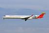 Croatia Airlines-Air Nostrum Bombardier CRJ1000 (CL-600-2E25) EC-MLO (msn 19050) (Air Nostrum-Iberia Regional colors) BCN (Tony Storck). Image: 940188.