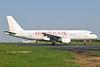 Dubrovnik Airline (Astraeus) Airbus A320-211 G-STRP (msn 136) SEN (Keith Burton). Image:  926042.