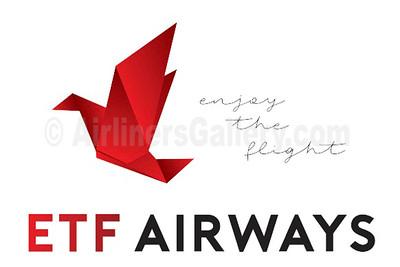 1. ETF Airways logo