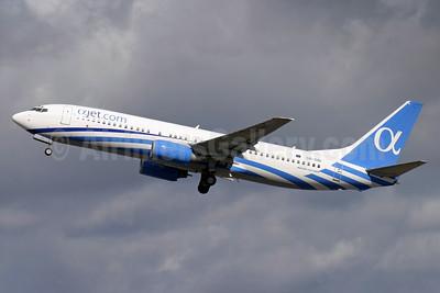 Ajet Airways (Ajet.com) Boeing 737-86N 5B-DBI (msn 30807) LGW (Antony J. Best). Image: 934699.