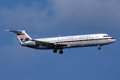 Cyprus Airways BAC 1-11 537GF 5B-DAJ (msn 261) LCA (Rolf Wallner). Image: 912710.