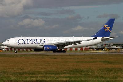 Cyprus Airways Airbus A330-243 5B-DBS (msn 505) LHR (Antony J. Best). Image: 901441.