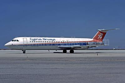 Cyprus Airways BAC 1-11 537GF 5B-DAH (msn 258) ATH (Richard Vandervord). Image: 949081.
