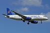 Cyprus Airways Airbus A320-231 5B-DBB (msn 256) ZRH (Paul Denton). Image: 909194.