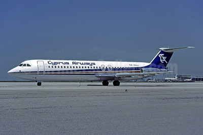 Cyprus Airways BAC 1-11 537GF 5B-DAJ (msn 261) ATH (Richard Vandervord). Image: 949083.