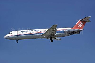 Cyprus Airways BAC 1-11 537GF 5B-DAH (msn 258) ATH (Richard Vandervord). Image: 949082.