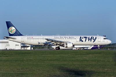 Kibris Turk Yollari-KTHY Airbus A321-211 TC-KTD (msn 2117) STN (Antony J. Best). Image: 902144.