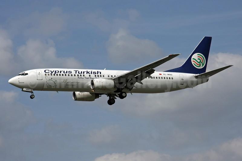 Cyprus Turkish Airlines Boeing 737-8S3 TC-MSO (msn 29246) LIS (Pedro Baptista). 902855.