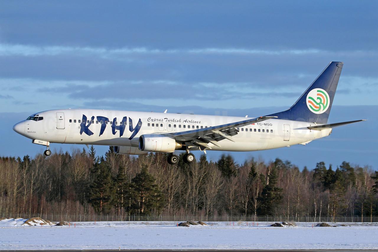 Cyprus Turkish Airlines-KTHY Boeing 737-8S3 TC-MSO (msn 29246) ARN (Stefan Sjogren). Image: 902447.