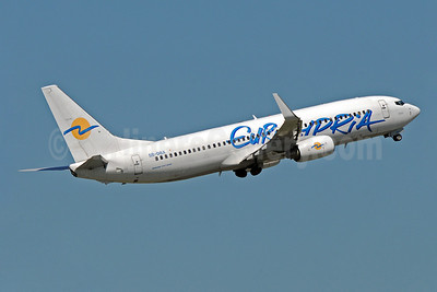 Eurocypria Airlines Boeing 737-8Q8 WL 5B-DBX (msn 33699) MAN (Rob Skinkis). Image: 903112.