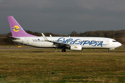 Eurocypria Airlines Boeing 737-8BK WL 5B-DBZ (msn 33030) LGW (Antony J. Best). Image: 902945.