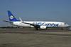 Eurocypria Airlines Boeing 737-8Q8 WL 5B-DBU (msn 32796) LHR. Image: 930559.