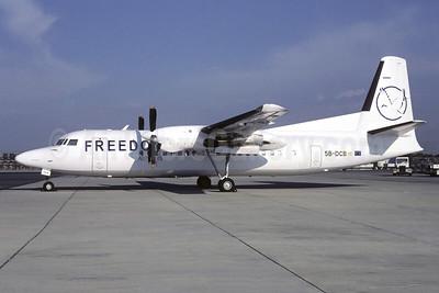 Freedom Airways (Cyprus) Fokker F.27 Mk. 050 5B-DCB (msn 20230) (Christian Volpati Collection). Image: 951411.