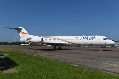 Tus Air Fokker F.28 Mk. 0100 2B-DDE (5B-DDE) (msn 11427) GRQ (Ton Jochems). Image: 955148.