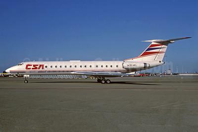 CSA-Czech Airlines Tupolev Tu-134A OK-HFL (msn 7349913) AMS (Jacques Guillem Collection). Image: 932070.