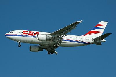 CSA-Czech Airlines Airbus A310-325 OK-YAD (msn 674) JFK (Bruce Drum). Image: 100385.