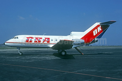 CSA-Czechoslovak Airliners (Czech Airlines) Yakovlev Yak-40K OK-GEL (msn 9640651) PRG (Christian Volpati Collection). Image: 934758.