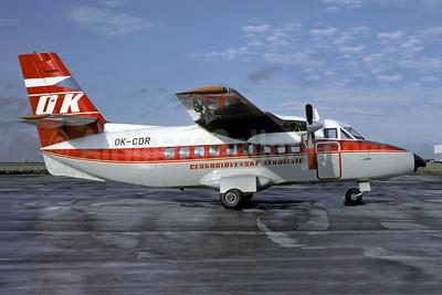 Ceskoslovenske Aerolinie Let L-410A Turbolet OK-CDR (msn 720202) LBG (Christian Volpati). Image: 953199.