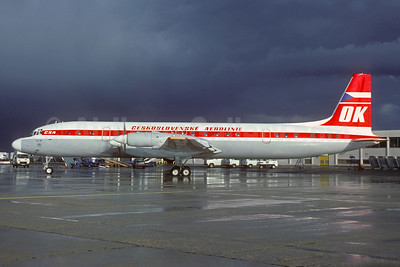 Ceskoslovenske Aerolinie-CSA (Czech Airlines) Ilyushin Il-18D OK-VAF (msn 186009004) ORY (Jacques Guillem). Image: 931423.