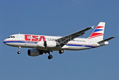 CSA-Czech Airlines Airbus A320-214 OK-TQA (msn 1439) TLS. Image: 900836.