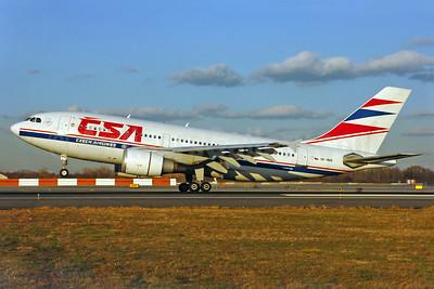 CSA-Czech Airlines Airbus A310-304 OK-WAB (msn 567) JFK (Ken Petersen). Image: 904446.